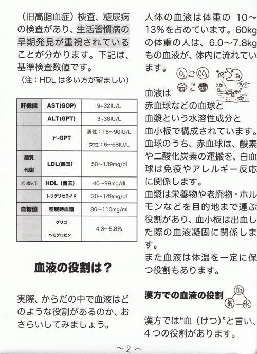 いちやく草便り2009年3月号(2)