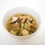 金針菜と黒キクラゲのスープ
