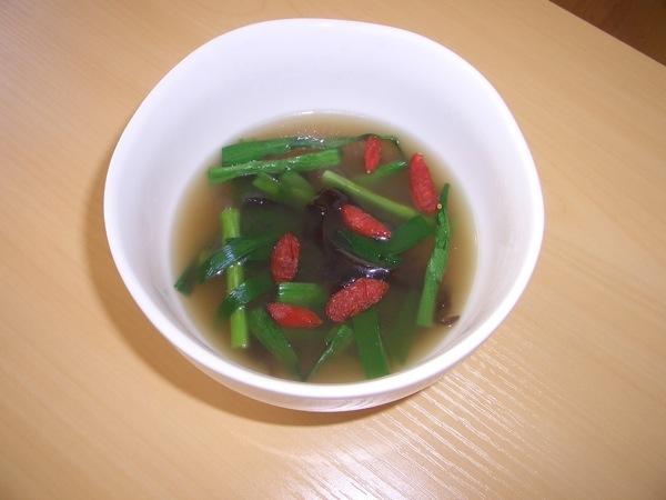 2009年4月薬膳講座 田七入りきくらげスープ