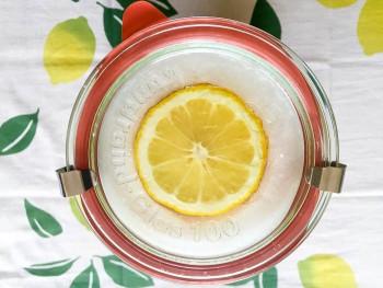 塩レモン瓶詰め完了
