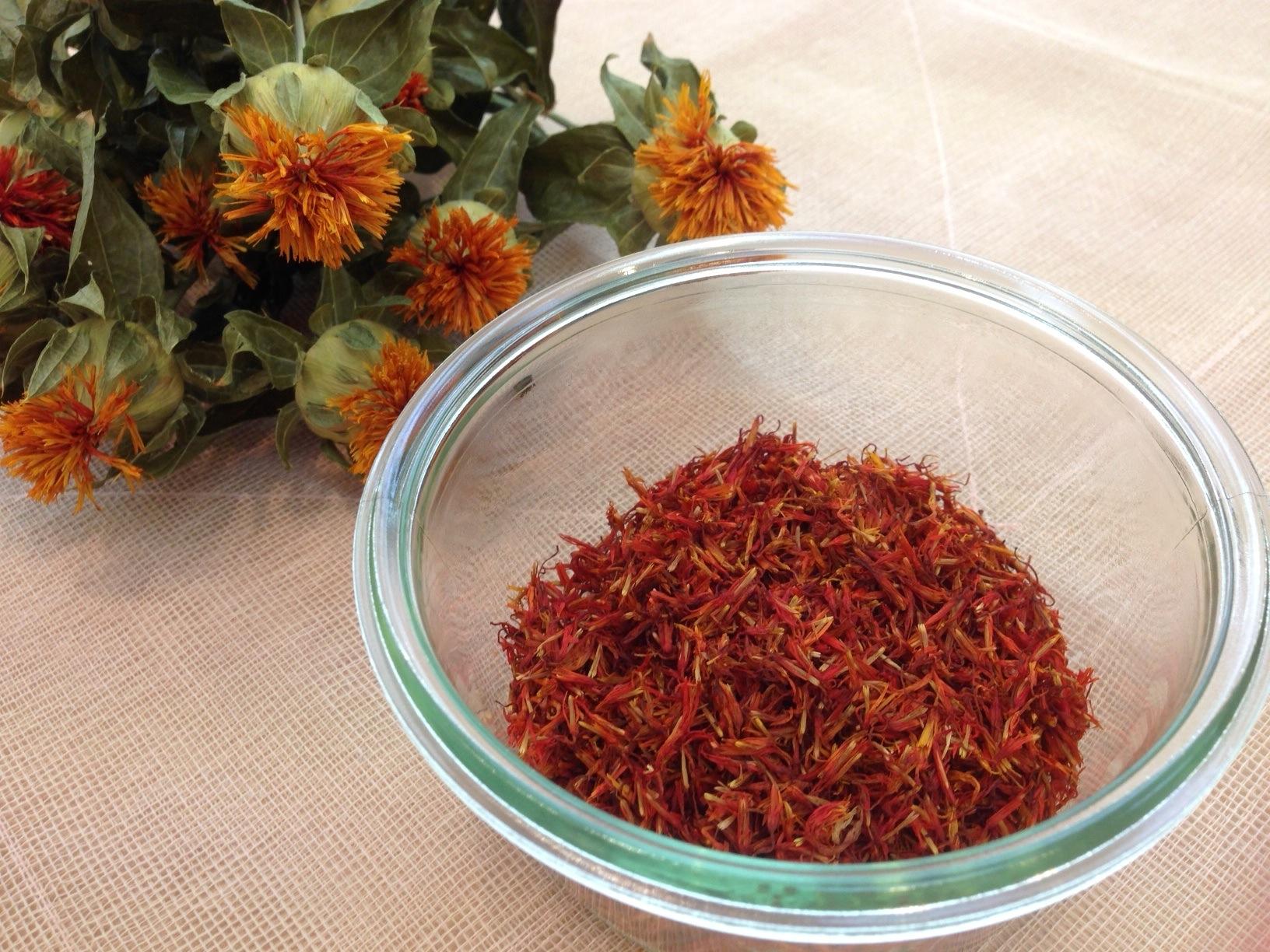 紅花(薬湯用)