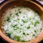土鍋で作った七草粥